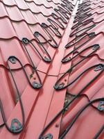 Монтажные крепления для греющего кабеля на кровлю