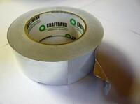Скоч-лента алюминевая монтажная самоклеющийся 50 мм х 50м