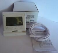 Терморегулятор встраиваемый программируемый E-51.716 кнопочное управление + встроенный датчик тепературы воздуха