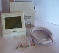 Терморегулятор программируемый встраиваемый E-91.716 сенсорное управление+встроенный датчик температуры воздуха