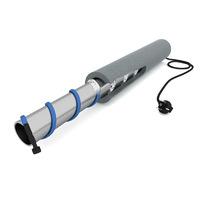 Теплоизоляция для труб  D 22  9 мм. 2м