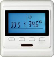 Терморегулятор встраиваемый программируемый E-53.716 кнопочное управление + встроенный датчик тепературы воздуха