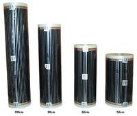 Пленочный инфракрасный теплый пол E&S Tec ширина 50 см, мощность 110 Вт на мерт пог.