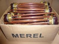 ТЭН 2 кВт с терморегулятором (тип ARISTON) (материал медь Т4) (К.Н.Р.)